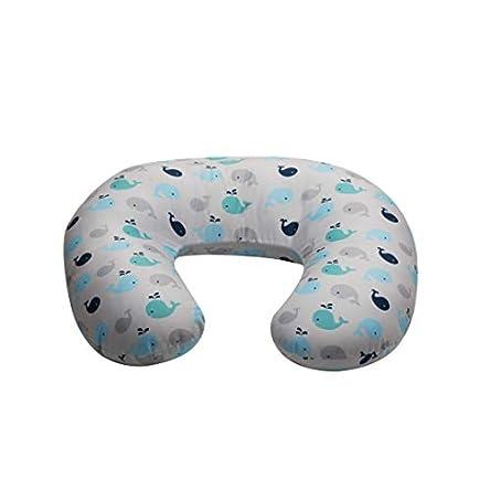 NurSit Basic Nursing Pillow and Positioner, Whales...
