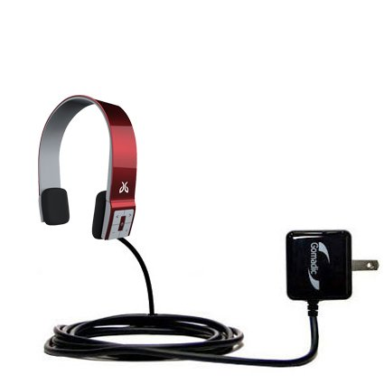 Jaybird Sportsband SB2 compatible Advanced Rapid Wall AC Charger - Amazingly powerful home charge design built with Gomadic Brand TipExchange