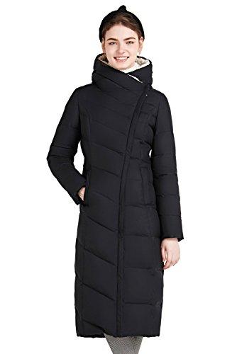 Giacca Aderenti Eleganti Piumino Abbigliamento Cappotti Nero Inverno 1gnSTqwxp