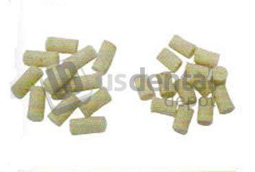KEYSTONE - Felt Cylinders - 0.37in x 0.25inches diameter (10mm lenght x 6mm) - 100 per pack - K# 1340100 Good grade for use on threaded mandrels 034-1340100 Us Dental Depot