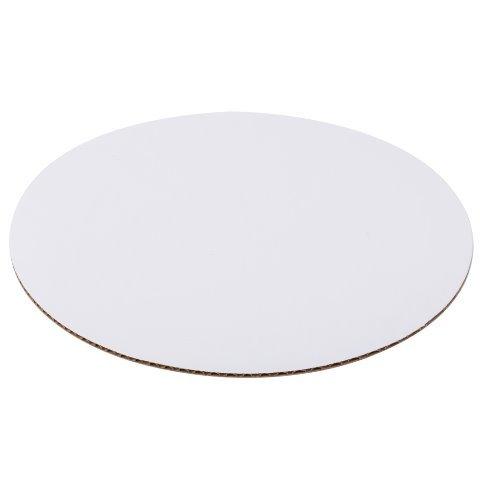 Cpc Board (Cpc B18COR Disposable 18 in. White Circular Cake Board44; Case of 125)