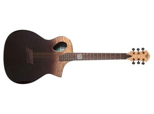 - Michael Kelly MKFPXPE Forte Port X Acoustic-Electric Guitar, Partial Eclipse