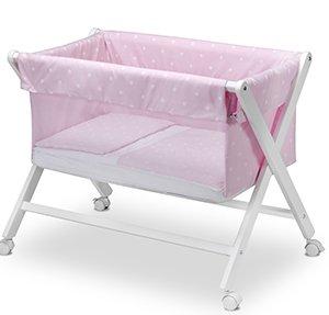 Pirulos 28100514 - Minicuna tijera plegable, color rosa
