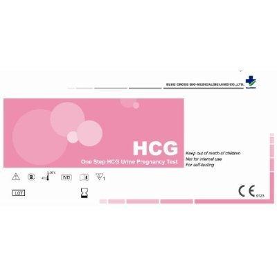 BlueCross babi One Step HCG Urine Pregnancy Test Strips, 30-count