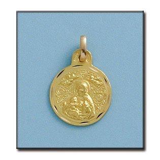 Médaille D'or 18kt V. Cinta 15mm