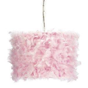Pink Drum Pendant Lighting