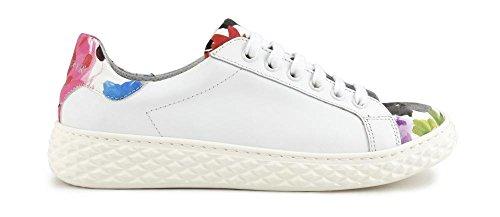 Floreale Vitello Allacciata In E Mdd103 Cafènoir Stampa 324 Multirosso Sneakers HqgpxTU0