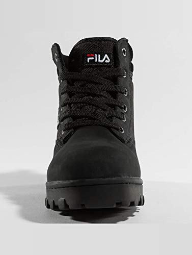 Weiblich Boots Mid Women Black Grunge Fila RaTqdR