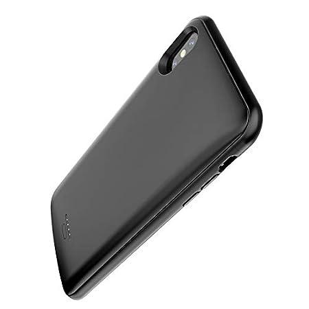 360/° Schutz Sto/ßstange auf Allen Seiten und kompatibel f/ür iPhone Xr Ultraleicht und d/ünn mit rutschfestem Material Litionite Magneto 5000mAh Akku H/ülle wiederaufladbare mit magnetischer /Öffnung