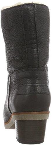 Shabbies AmsterdamShabbies 16cm booty heel 4cm Norfolk sole WOOL lined as FW2014 Feline - botas de caño bajo Mujer Negro - Schwarz (Black 002)