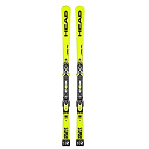 HEAD – Pack Ski WC Rebels I.Speed Pro SW + Fixations FF Evo 16 – Homme – Jaune