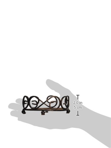 Thirstystone Round Scroll Holder, Bronze by Thirstystone (Image #1)
