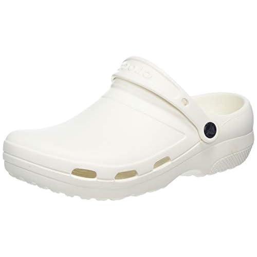 chollos oferta descuentos barato Crocs Specialist II Vent Clog Zuecos Unisex Adulto Blanco White 100 42 43 EU