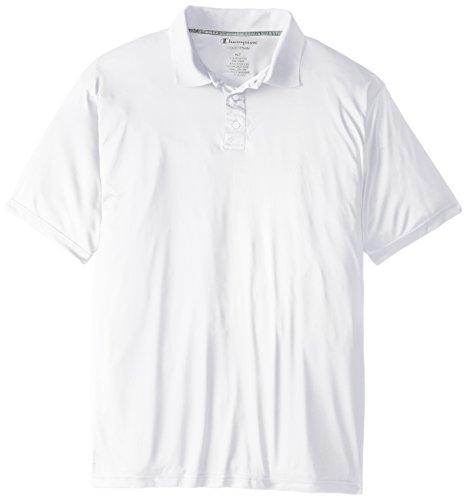 Champion Mens Big-Tall Powertrain Solid Polo Shirt