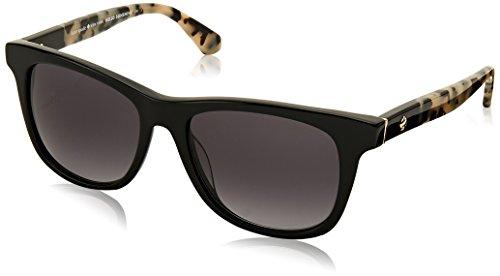 Kate Spade New York Women's Charmine/S Black Havana/Dark Gray Gradient Lens - Sunglasses Gradient Gray Lens