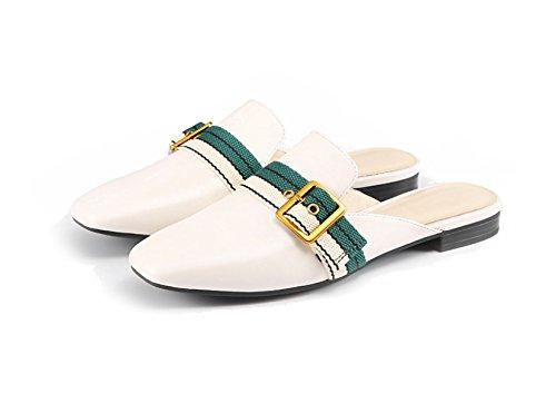 Mezzo Primavera MSM4 Per Libero Pigro White A280P Nuove Pantofole Sfregamento Mueller Il 2018 Femminile Tempo Scarpe Piazza Scarpe r7qwIv7x0