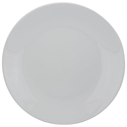 10 Strawberry Street CATERING-12CPDIN Plates, Dinner, White