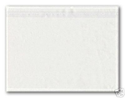 250 Dokumententaschen DIN C5 transparent selbstklebend