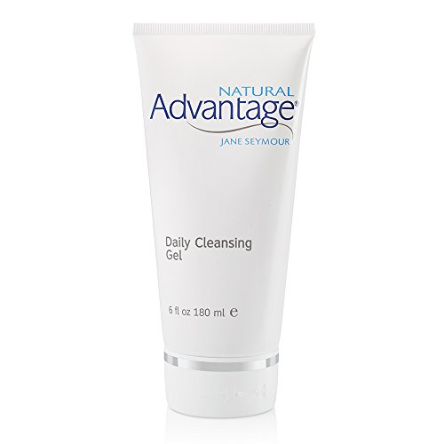 - Daily Cleansing Gel – Gentle Hydrating Wash – Light Fragrance – 90 Day Supply/6 Ounces – Natural Advantage by Jane Seymour