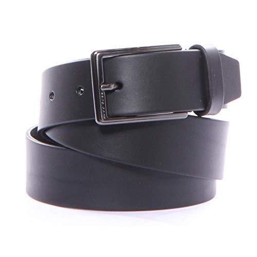 [해외]Hugo Boss 남성용 Sammyo_Sz35_ltpl 벨트 100% 소가죽 신제품 / Hugo Boss Sammyo_Sz35_ltpl Belts 36 Black Men