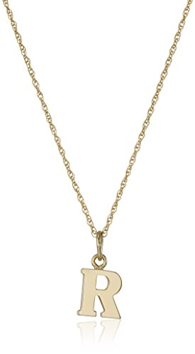 14k Yellow Gold-Filled Letter