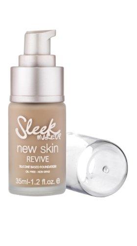 Sleek Makeup New Skin Revive Foundation Barley 35 ml, 1er Pack (1 x 35 ml)