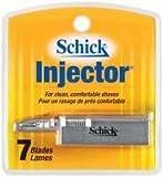 SCHICK INJECTOR BLADES 7