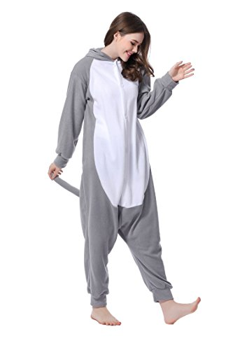 Kigurumi Pijamas Hipopótamo Cosplay Unisex Animal Pijamas Halloween Navidad Carnaval fiesta de cumpleaños 1
