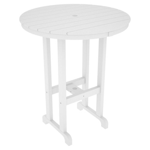Eco-friendly Bar Table in White