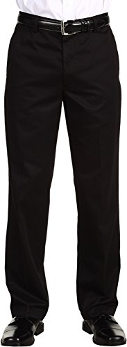 dockers-mens-mens-signature-khaki-d2-straight-fit-flat-front-black-pants-29-x-30