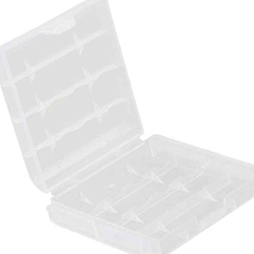 Morza Batterie en Plastique Transparent Boîte de Rangement Case Holder Cover pour Piles AAA AA conveninet Nouvelles