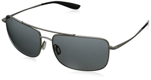 Kaenon Men's Ballister Polarized Sunglasses, Matte Chrome, 60 mm
