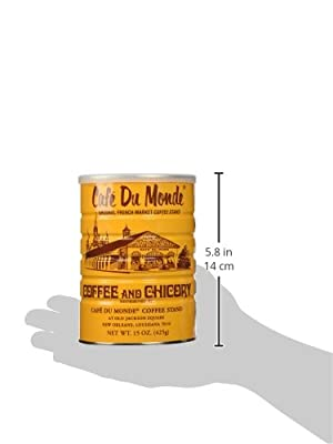 Cafe Du Monde Coffee and Chicory Can, 15oz Ground from Cafe Du Monde