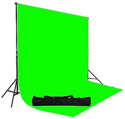 Fancierstudio 10'x12' Green Screen Background Stand Kit Backdrop Support  System Kit