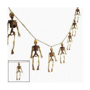 (Dangling Skeleton Garland - Halloween)