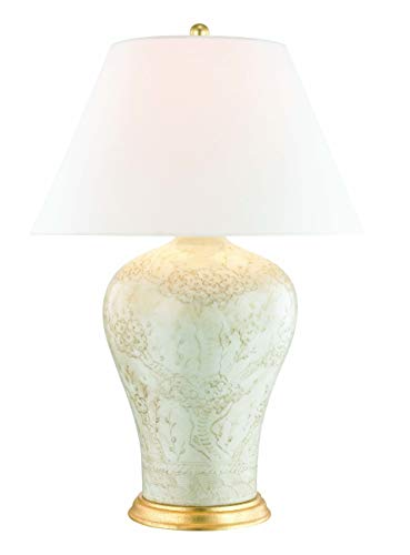 Hudson Valley L1065-ANT Plutarch Table Lamps, 1-Light 60 Watts, Antique Relief