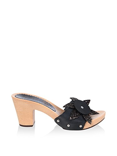 hh-Made in Italy Mules Negro EU 38