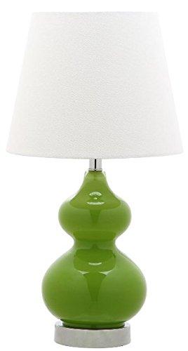 Safavieh Kids Lighting Collection Eva Green Double Mini Table Lamp