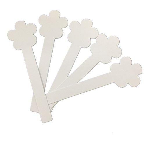 (YaYiYo 380g Flower Shape Aromatherapy Fragrance Perfume Essential Oils Test Strip Paper Strips 200PCS )