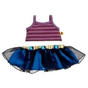 Build a Bear Vexy 2 Pc. Doll Teddy Size Outfit Smurfs Movie II BAB -