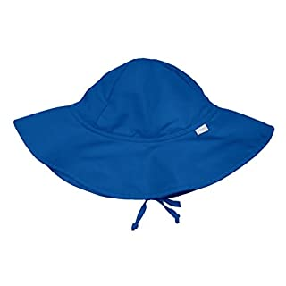 i play. by green sprouts Baby & Toddler Brim Sun Protection Hat   All-day UPF 50+ sun protection for head, neck, & eyes