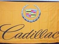 Cadillac tradicional bandera