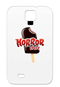 Horror Icecream Tatoo Photography Love Friendship Lolly Kids Art Design Comedy Red Cover Case For Sumsang Galaxy S4