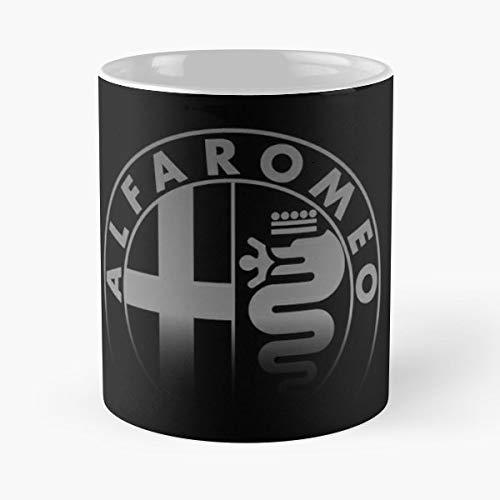 Alfa Romeo Mug Tshirt Meistverkaufte Standardkaffee 11 Unzen Geschenk Tassen f/ür alle
