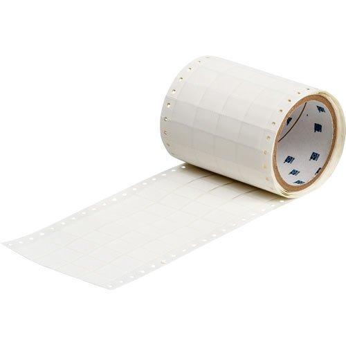 Brady HSCPS-0.9-7508-WT, 68541 BradySleeve Dot Matrix Printer Sleeve, Roll of 500 pcs by Brady