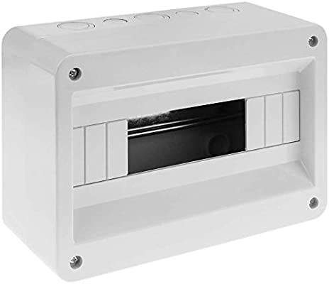 BeMatik - Caja de Superficie de automatismos eléctricos para 12 ...