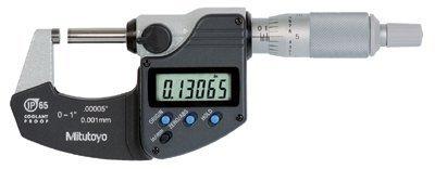 Mitutoyo 504-293-340-30 Series 293 Coolant Proof Micrometer, 1 in. Range