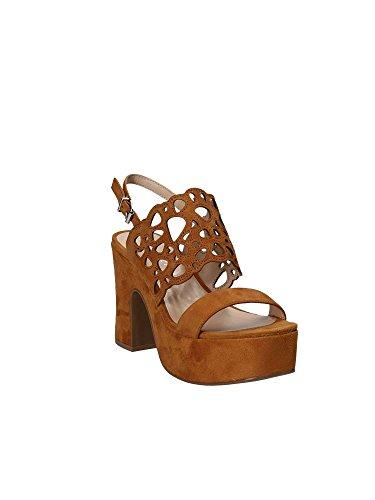 Apepazza Sandals High Women Grc02 Marròn x7FYxw