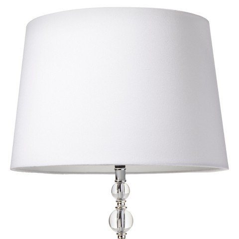 Threshold Drum Linen Lamp Shade - White Large