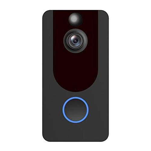 WiFi Video Doorbell Camera Video V7 1080p Intercom Remote Monitoring Alarm